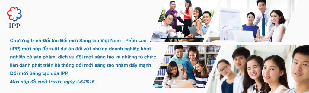 IPP Innovation Accelerator banner (vn)