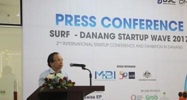 Ông Võ Duy Khương, Chủ tịch Hội đồng Điều phối Mạng lưới Khởi nghiệp Đà Nẵng tin tưởng SURF Đà Nẵng 2017 sẽ đánh dấu bước phát triển tiếp theo của Hệ sinh thái khởi nghiệp Đà Nẵng.