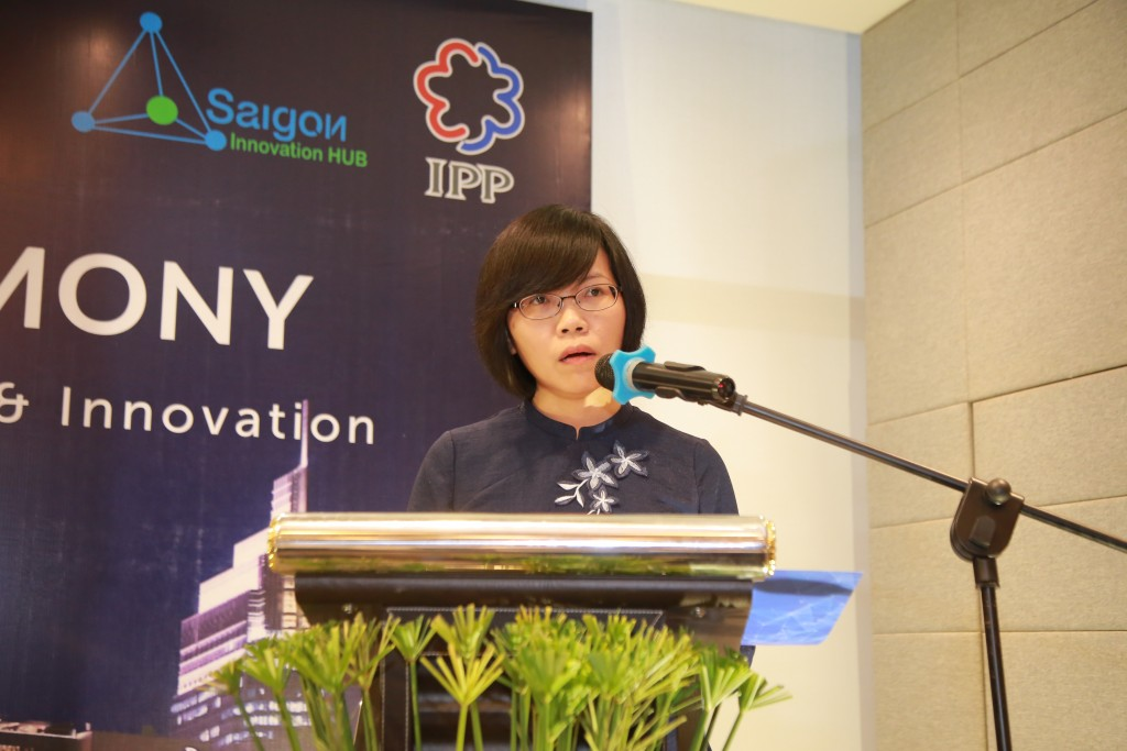Speech from Mrs. Tran Thi Thu Huong -- IPP Programme Director and Assistant to Minister of Science and Technology