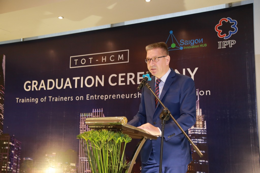 Speech from H.E. Mr. Ilkka-Pekka Simila - Ambassador of Finland to Vietnam