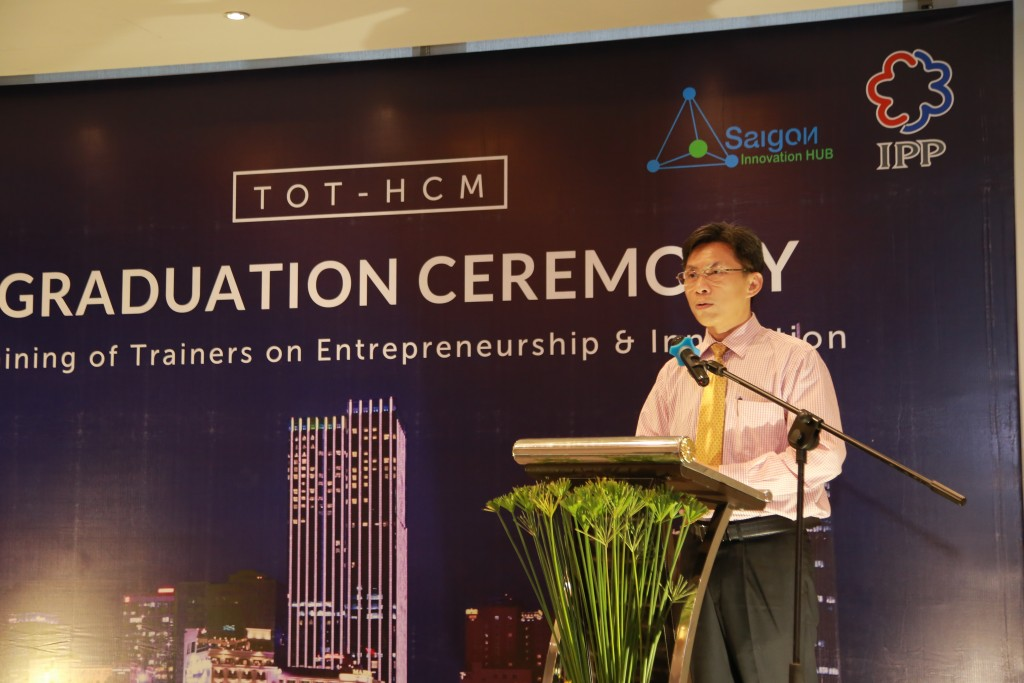 Speech from Mr. Nguyen Viet Dung -- Director of Department of Science and Technology City