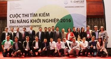 Ngày hội khởi nghiệp Việt Nam Techfest là cơ hội kết nối giữa các startup với các nhà đầu tư. Ảnh: truyenthongkhoahoc.vn