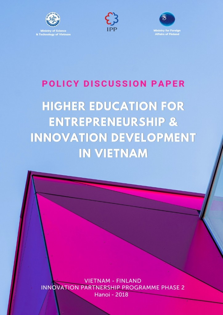 Cover of Edu Policy Discussion Paper