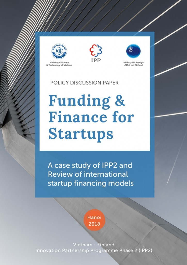 Cover of Finance Policy Discussion Paper (1)