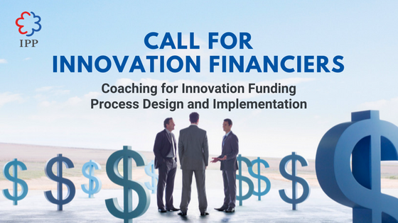 Call for Innovation Financiers banner