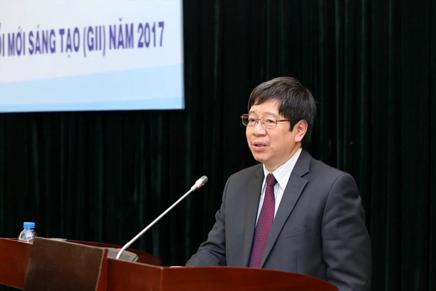 Thứ trưởng Trần Quốc Khánh phát biểu tại Hội nghị. Ảnh: PV