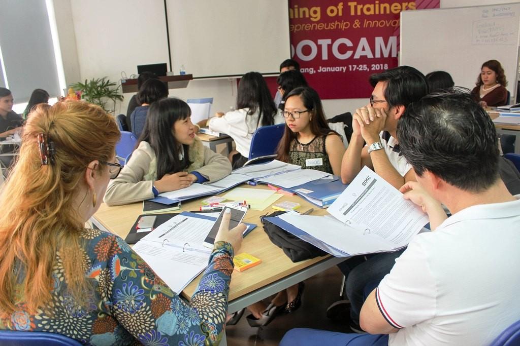 Nhiều bạn trẻ chọn Đà Nẵng để khởi nghiệp các ý tưởng. Ảnh VGP/Thế Phong