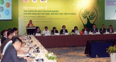 Các đại biểu trong và ngoài nước tham dự buổi hội thảo.