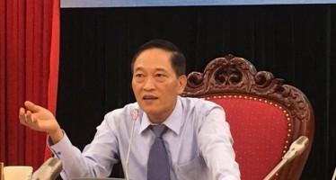 Thứ trưởng Trần Văn Tùng, chủ trì buổi họp báo sáng nay về Techfest 2017 – Nghiêm Huê