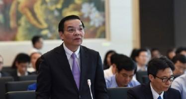 Bộ trưởng Chu Ngọc Anh trả lời chất vấn.