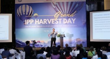 Lauri Laakso, chief advisor of IPP2, speaks at the IPP Grand Harvest Day